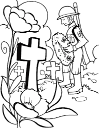 Coloring Pages Remembrance Day | remembrance day military coloring page remembrance day pinterest