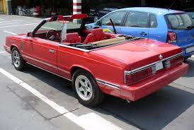 chrysler lebaron file chrysler lebaron cabrio jpg wikimedia commons