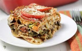 sweet potato veggie lasagna vegan one green planet