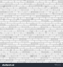 Wall Pattern by White Gray Wall Brick Background Rustic Stock Vector 580865872