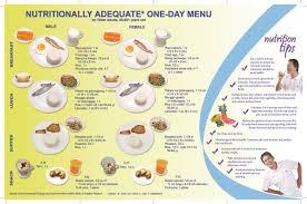 nutritionally adequate one week sample menu for filipinos u2014 foodrecap