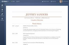 creative resume builder resume builder for mac free resume example and writing download visualcv resume builder screenshot