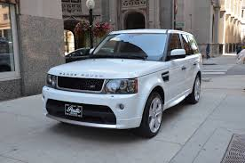 white and gold range rover 2011 land rover range rover sport hse stock gc1290ab for sale