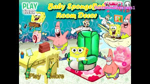 spongebob squarepants baby room decor play kids games