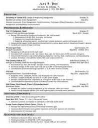 cv sample hospitality nursing resume and cover letter examples 2014