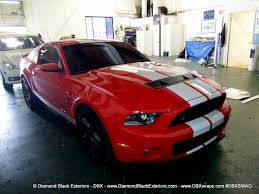 Shelby Mustang Black Project Mustang Shelby Gt500 By Dbx U2013 Wrapped In Frozen Chrome