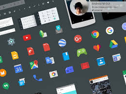 android m gui kit sketch freebie download free resource for