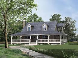 small country house designs small country house around large porches front plans and farm