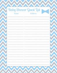 list of baby shower baby shower guest list set baby shower theme for baby