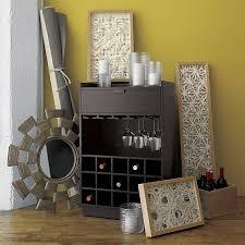 Crate And Barrel Bar Cabinet Skyler Java Rolling Bar Crate And Barrel Home Bar Pinterest