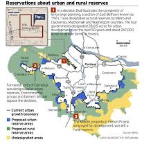 Forest Park Map Portland by With Critics On All Sides Portland Area U0027s Long Range Growth Plan