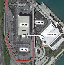 port canaveral map port canaveral port overview parking terminals and maps