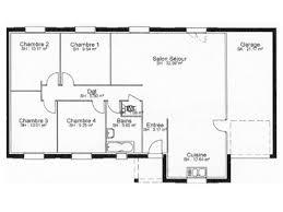 modele maison plain pied 4 chambres plan du modèle magnolia maison individuelle de plain pied