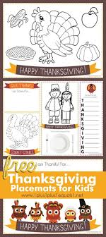 printable thanksgiving placemats for 1 1 1 1