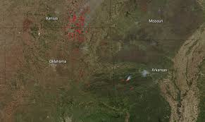 Oregon Forest Fires Map by Forest Fires Blaze In Central United States Nasa