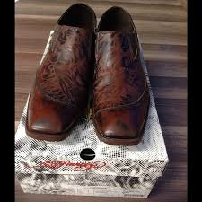 59 off ed hardy other mens ed hardy west wing brown dress shoes