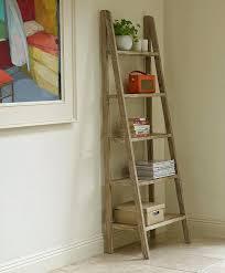 coaster 4 drawer ladder style bookcase wood ladder shelves lamdepda regarding ladder style bookcase