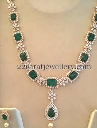 swarovski necklace design images Swarovski czs and emeralds set jewellery designs jpg