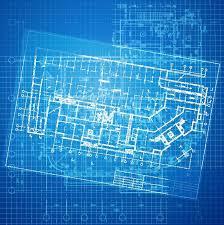 blue print designer urban blueprint vector architectural background part of