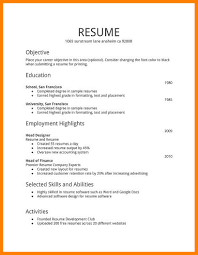 Free Sample Resume Templates Free Sample Resume Templates Word Choice Image Templates Design