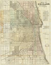 Chicago Usa Map by File 1857 Blanchard U0027s Map Of Chicago Jpg Wikimedia Commons