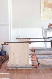 DIY Modern Farmhouse Bench West Elm Inspired Southern Revivals - Diy west elm emmerson dining table