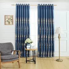 2017 high quality european type window blackout curtain for living