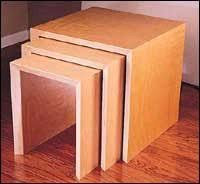 Plans To Build End Tables by 39 Best Nesting Table Plans Images On Pinterest Nesting Tables
