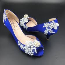 Wedding Shoes Blue Wedding Shoes Colorfulbeach Artfire Shop