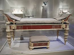 ipernity roman dining couch and footstool in the metropolitan