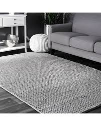 Area Rugs 4 X 6 Great Deal On Nuloom Contemporary Solid Braided Area Rugs 4 X 6