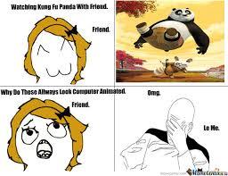 Meme Fu - kung fu panda by darius18051 meme center
