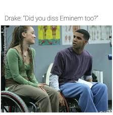 Eminem Drake Meme - eminem vs drake home facebook