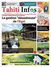 Chambre Ré Ionale Des Comptes Paca Calaméo Tahiti Infos N 1109 Du 1er Mars 2018
