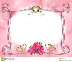 invitã e mariage de cadre d invitation de mariage image stock image 15571581