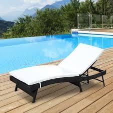 Poolside Chair Wicker Chaise Lounges You U0027ll Love Wayfair