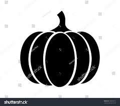 pumpkin squash thanksgiving flat icon stock vector