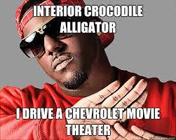 Interior Crocodile Alligator Interior Crocodile Alligator Memes Quickmeme
