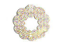 coton colors happy everything plate happy everything wooden wreath toss coton colors