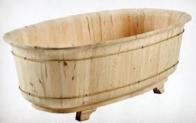 vasche da bagno legno vasca da bagno in legno grezzo mobili lapi shop