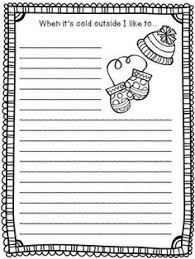literacy minute snowman writing paper freebie teacher ideas