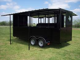 Enclosed Trailer Awning For Sale 18 Ft Enclosed Trailer U2013 Johnson Custom Bbq Smokers