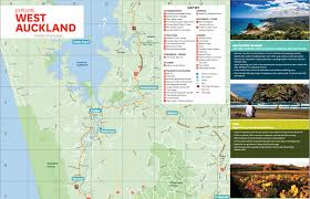 Map Of West Coast West Auckland Map Map Of West Auckland New Zealand