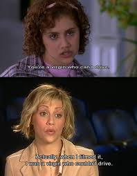 Clueless Movie Meme - brittany murphy comments on her insult scene in clueless during an