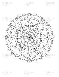 mandala coloring pages advanced level printable 24295