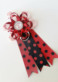 ladybug baby shower mommy to be corsage mommy to be pin