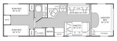 class a rv floor plans california motor home rental from rentmyrv fleetwood tioga bunk