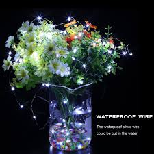 flower arrangements with lights amazon com gdealer 6 pack fairy string lights 7 2ft 20led fairy