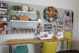 Craft Room Office - creative home office reveal