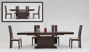 Contemporary Kitchen Table Sets by Dining Tables Modern Round Table Round Dining Table Set For 4